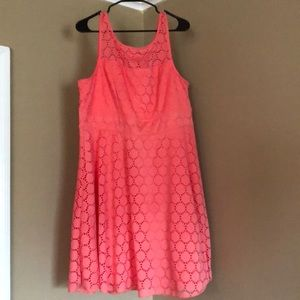 Peach dress, great condition! only worn once